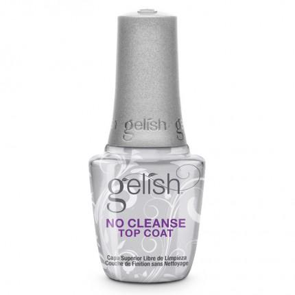 No Cleanse Top Coat 15ml - GELISH - bezvýpotková vrchní vrstva gel laku