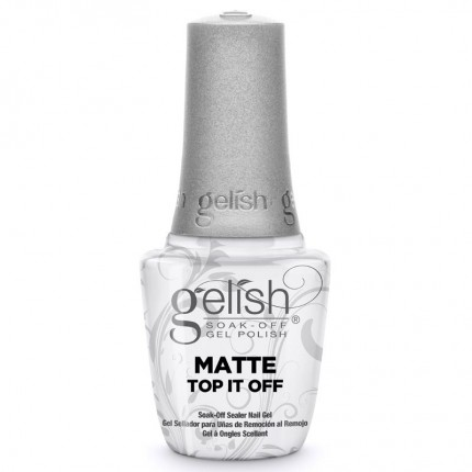 Matte Top It Off 15ml - GELISH - zmatňující vrchní vrstva gel laku na nehty