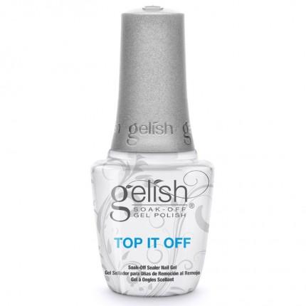 G Top It Off 15ml - GELISH - vrchní vrstva gel laku na nehty