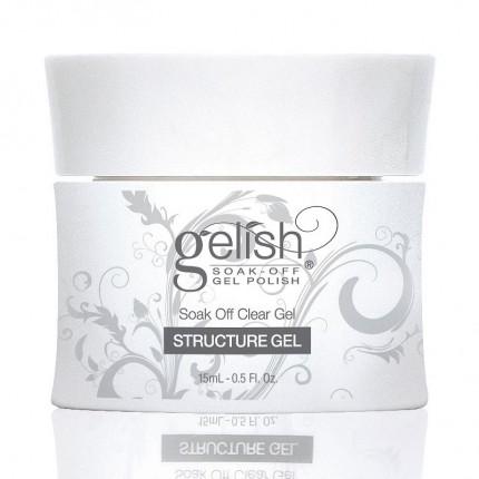 Structure Clear Gel 15ml - GELISH - průhledný, zpevňující gel na nehty