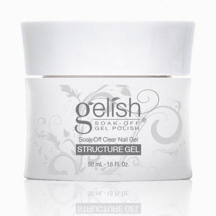 Structure Clear Gel 50ml - GELISH - průhledný, zpevňující gel na nehty
