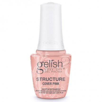 Structure Cover Pink 15ml - GELISH - krycí růžový, zpevňující gel na nehty