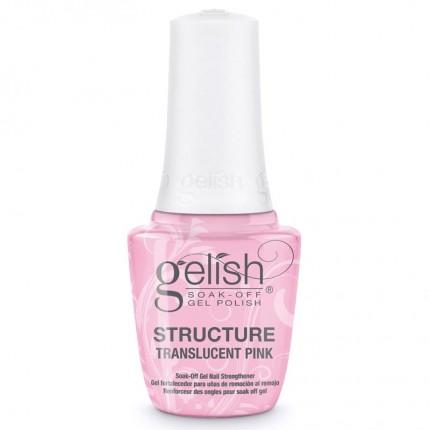 Structure Translucent Pink 15ml - GELISH - průhledně růžový, zpevňující gel na nehty