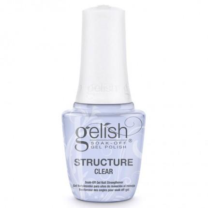 Structure Clear 15ml - GELISH - průhledný, zpevňující gel lak na nehty