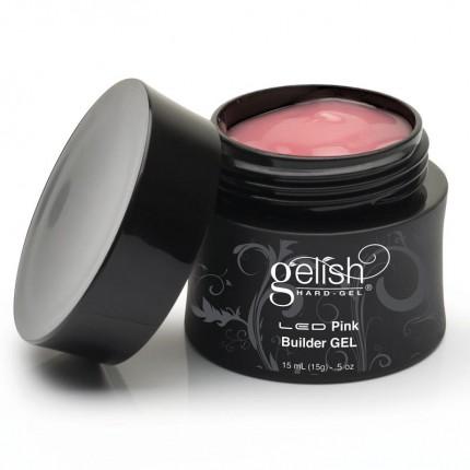 Hard-Gel Dark Pink Builder Gel 15ml - GELISH - tmavorůžová stavební gel na nehty
