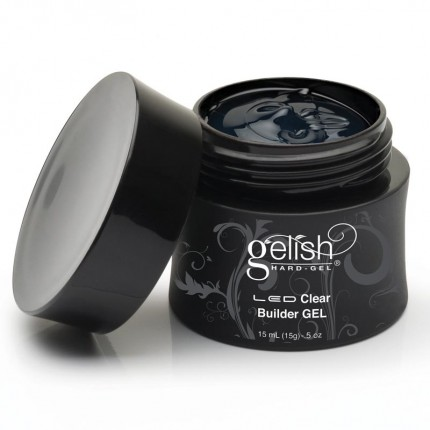 Hard-Gel Clear Builder Gel 15ml - GELISH - průhledný stavební gel na nehty