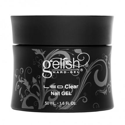 Hard-Gel Clear Gel 50ml - GELISH - průhledný zpevňující gel na nehty