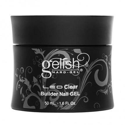 Hard-Gel Clear Builder Gel 50ml - GELISH - průhledný stavební gel na nehty