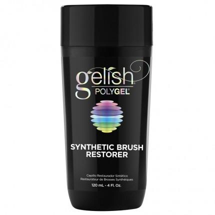Polygel Synthetic Brush Restorer 120ml - GELISH - roztok na čištění štětce
