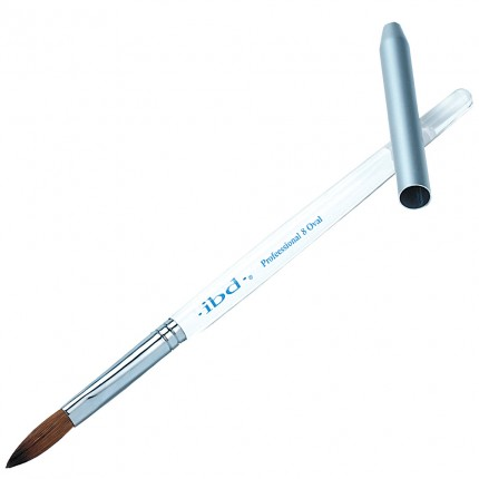 # 8 Acrylic Professional Oval - IBD štětec na akryl