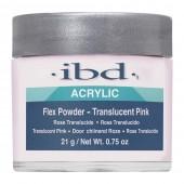 FLEX Translucent Pink 21g - IBD - růžový akrylový prášek na errow.cz