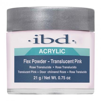 FLEX Translucent Pink 21g - IBD - růžový akrylový prášek