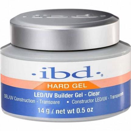 LED/UV Builder Clear Gel 14g - IBD průhledný stavební gel na nehty