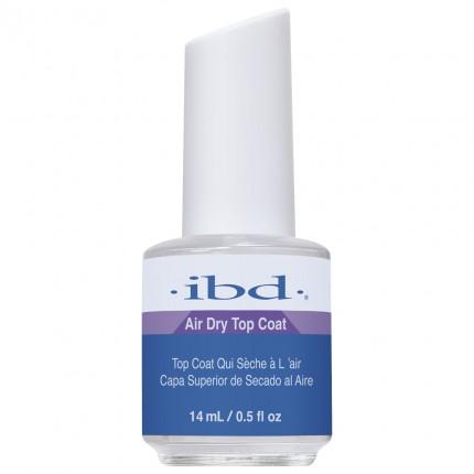 Air Dry Topcoat 14ml - IBD vrchní vrstva na laky, gely a akryly