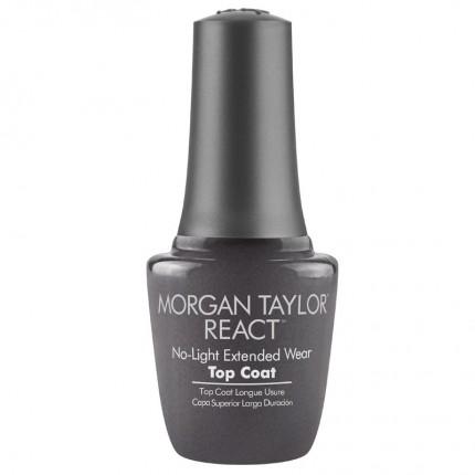 React Top Coat 15ml - MORGAN TAYLOR - speciální vrchní vrstva na prodloužení manikúry