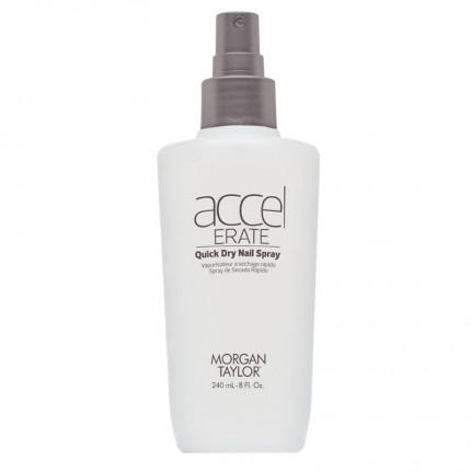 Accelerate Quick Dry Spray & Drops 240ml - MORGAN TAYLOR - sušič laku na nehty (sprej)