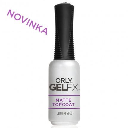 Matte Topcoat 9ml - ORLY GELFX - zmatňující vrchná vrstva gel laku