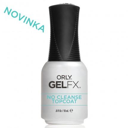 No Cleanse Topcoat 18ml - ORLY GELFX  - bezvýpotková vrchní vrstva gel laku na nehty
