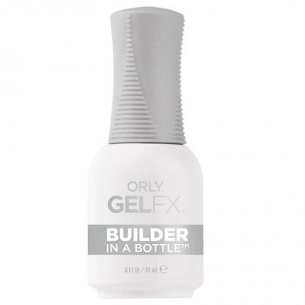 Builder In A Bottle 18ml - ORLY GELFX - průhledný odlakovatelný stavební gel