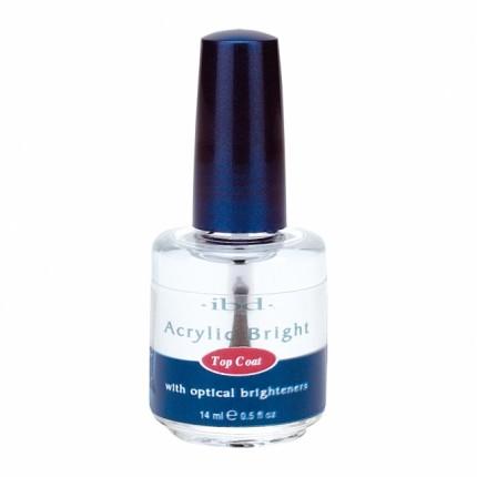 Acrylic Bright Topcoat 14ml - IBD vrchní vrstva na akryly a gely
