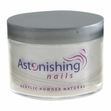 Acrylic Powder Natural 100g - ASTONISHING - akrylový pudr s přirozeným vzhledem