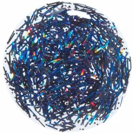 Black Holo Chunky Glitter 11ml - ORLY COLORBLAST - lak na nehty