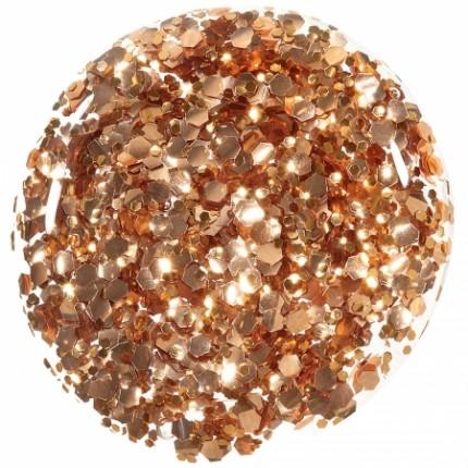 Bronze Chunky Glitter 11ml - ORLY COLORBLAST - lak na nehty