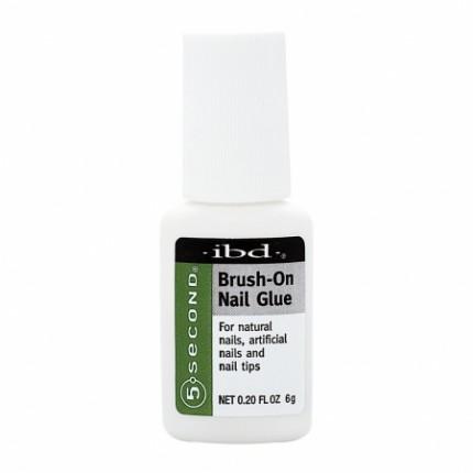 Brush-On Nail Glue 6g - IBD lepidlo na nehty