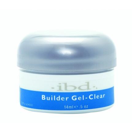 UV Builder Gel Clear 14ml - IBD průhledný stavební gel na nehty