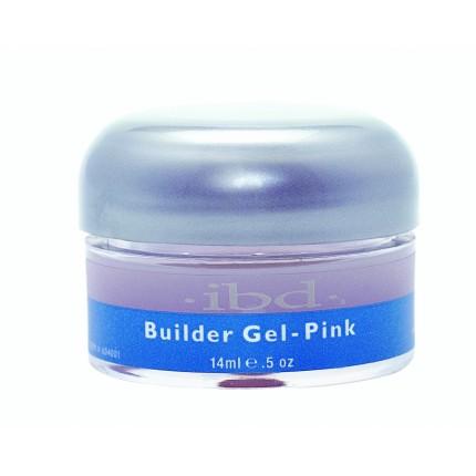 UV Builder Gel Pink 14ml - IBD stavební gel na nehty