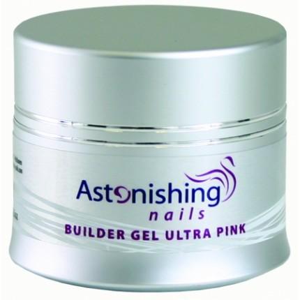 UV Builder Gel Ultra Pink 14g - ASTONISHING - UV růžový stavební gel