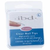 Clear tipy 6 - 50ks - IBD - průhledný typ na nehty, velikost 6 na errow.cz