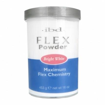 FLEX Bright White 453g - IBD - bílý akrylový prášek