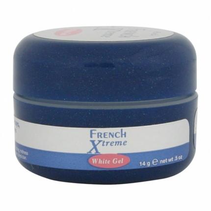 French Xtreme White Gel 14g - IBD stavební a zpevňující gel na nehty