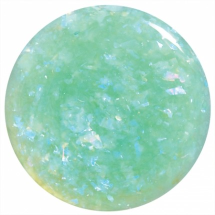 Green Flakie Matte Top 11ml - COLORBLAST lak na nehty