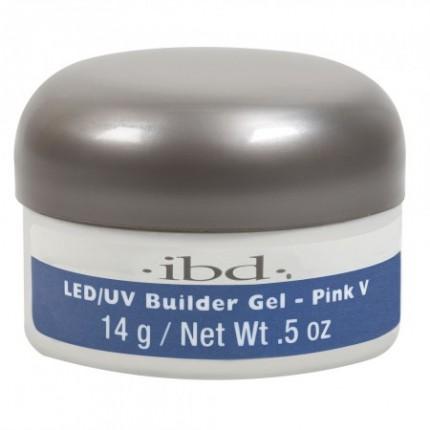 Pink V 14g - LED/UV Builder Gel - růžový stavební gel na nehty