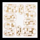 Nálepka - KOR009G