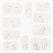 Nálepka - SFLS012PG (1599557060) na errow.cz