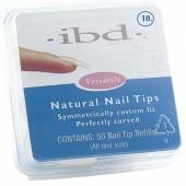 Natural tipy 10 - 50 ks - IBD - přirozene vypadajíci tipy na nehty velikosti 10 na errow.cz