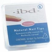 Natural tipy 4 - 50ks - IBD - přirozene vypadajíci tipy na nehty velikosti 4 na errow.cz