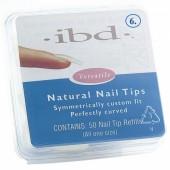 Natural tipy 6 - 50ks - IBD - přirozene vypadající tipy na nehty velikosti 6 na errow.cz