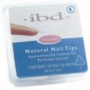 Natural tipy 9 - 50ks - IBD - přirozene vypadající tipy na nehty velikosti 9
