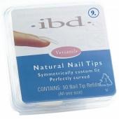 Natural tipy 9 - 50ks - IBD - přirozene vypadající tipy na nehty velikosti 9 na errow.cz