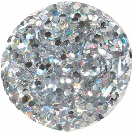 Silver Holo Chunky Glitter 11ml - ORLY COLORBLAST - lak na nehty