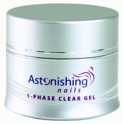 UV 1-Fase Clear Gel 45g - ASTONISHING - jednofázový UV číry gel