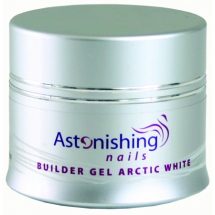 UV Builder Gel Arctic White 45g - ASTONISHING - UV bílý stavební gel