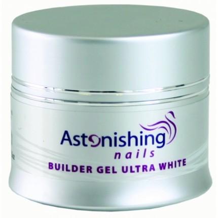 UV Builder Gel Ultra White 14g - ASTONISHING - UV bílý stavební gel