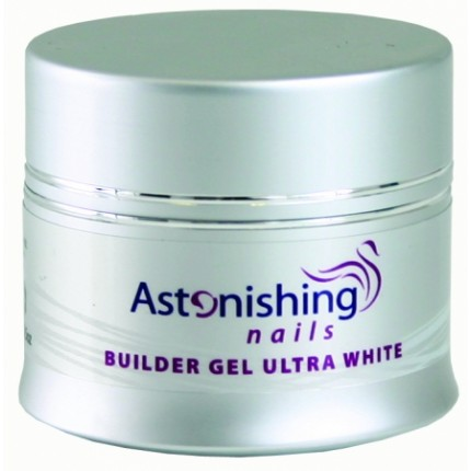 UV Builder Gel Ultra White 45g - ASTONISHING - UV bílý stavební gel