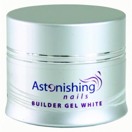 UV Builder Gel White 45g - ASTONISHING - UV bílý stavební gel